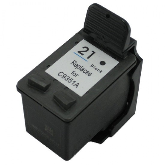 Compatible Black HP 21 High Capacity Ink Cartridge HP C9351AE