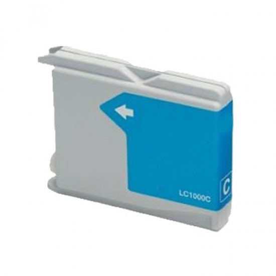 Compatible Brother LC1000 LC970 Cyan Ink Cartridge