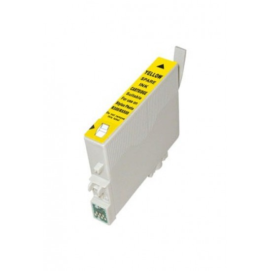 Compatible Yellow Epson  T484 Ink Cartridge.