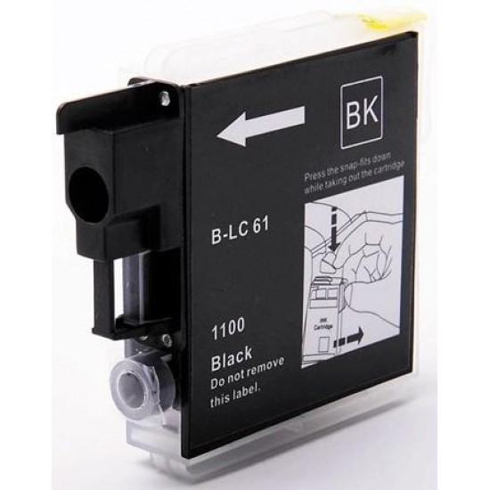 Compatible Brother LC1100 LC980 Black Ink Cartridge