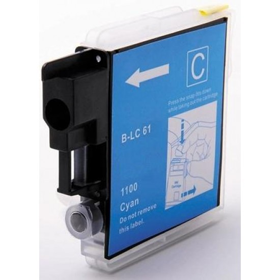 Compatible Brother LC1100 LC980 Cyan Ink Cartridge