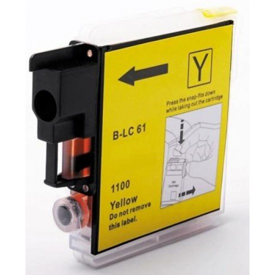 Compatible Brother LC1100 LC980 Yellow Ink Cartridge