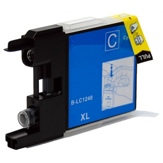 Compatible Brother LC1240C Cyan Ink Cartridge