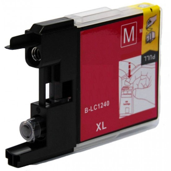 Compatible Brother LC1240M Magenta Ink Cartridge