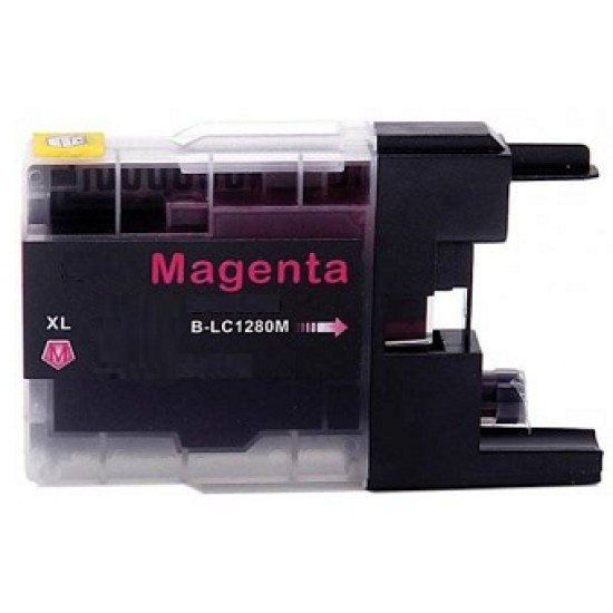 Compatible Brother LC1280XL-M Magenta ink cartridge