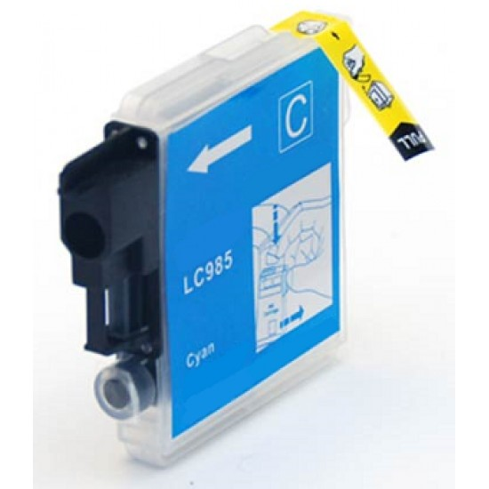 Compatible Brother LC985C Cyan Ink Cartridge