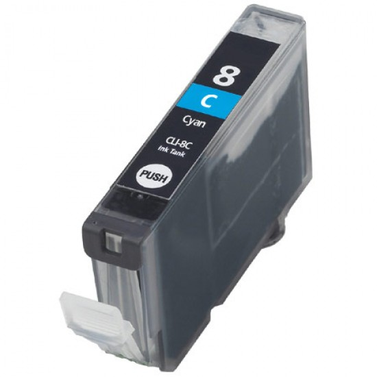 Canon CLI-8 Compatible Cyan - With Chip