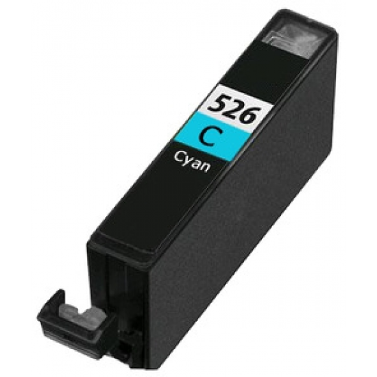 Compatible Cyan Canon CLI-526C Ink Cartridge (With Chip) 13ml