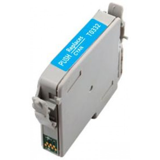 Compatible Epson T0332 Cyan Ink Cartridge