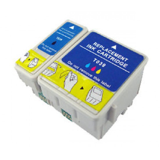 Compatible Epson T038 and T039 Colour Pack