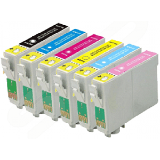 Compatible Epson T0487 Multipack