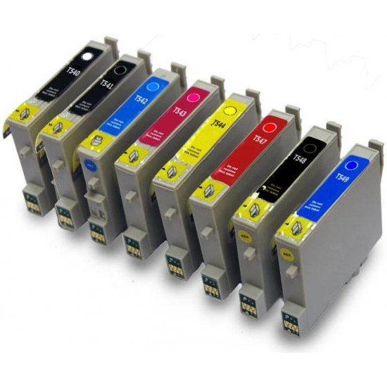 Compatible Epson Full Set of (540-549) Ink Cartridges