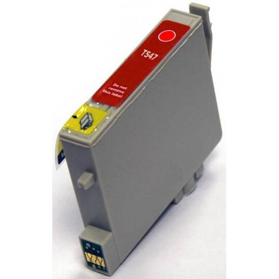 Compatible Epson T0547 Red Ink Cartridge