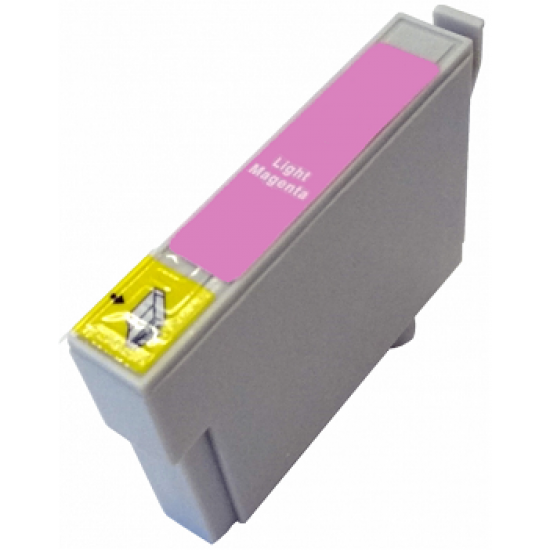 Compatible Light Magenta Epson (TO796) Ink Cartridge