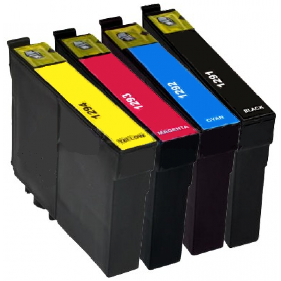 Compatible Epson T1295/85 Set of 4 Ink Cartridges