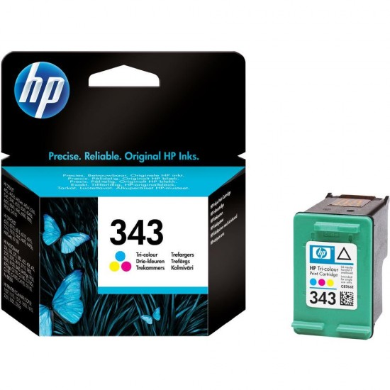 Original HP C8766EE (343) Colour Ink Cartridge 330 Pages
