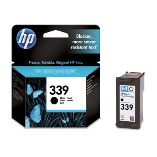 Original HP C8767EE (339) Black Ink Cartridge 860 Pages