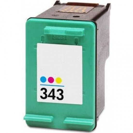 Recycled Colour HP Ink Cartridge C8766EE (343) 12ml