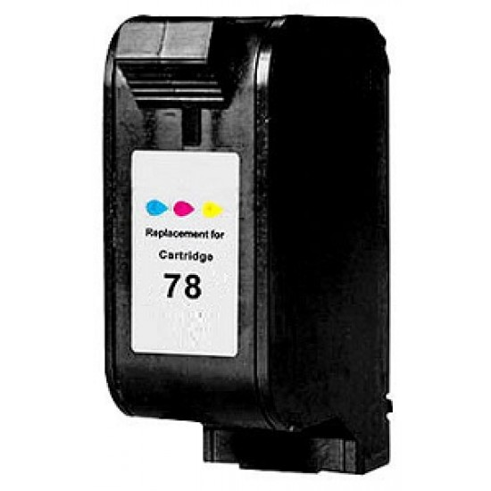 Compatible HP C6578AE 78 Tri Colour Ink Cartridge1620 Pages
