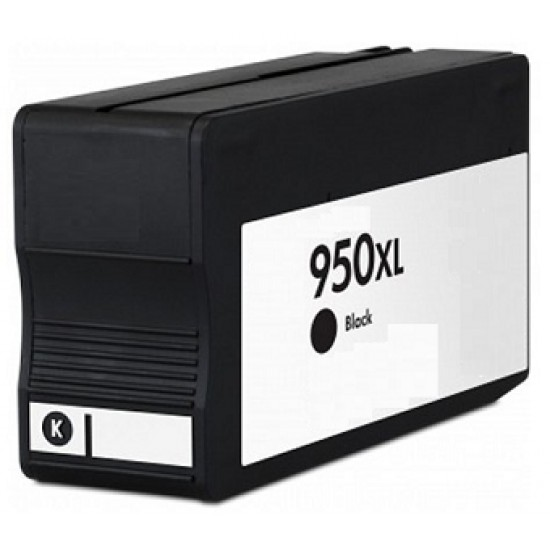 Premium Remanufactured HP CN045AE 950XL High Capacity Black  Ink Cartridge 2300 Pages