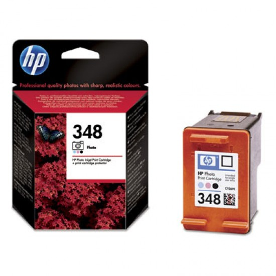 Original HP C9369E HP 348 Photo Ink Cartridge 130 photos (10x15cm)